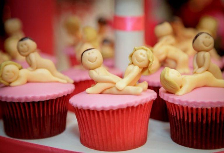 Miess Sex Shop - Chá de lingerie - Cupcakes eróticos