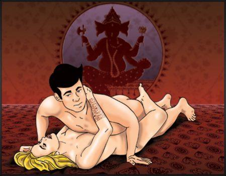 A posição entrelaçada é uma das mais famosas e também ajuda a deixar a vagina apertada