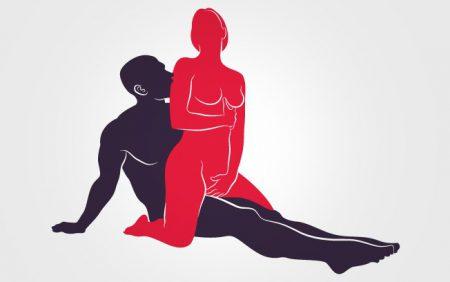 posicao sexual cavalgada de costas