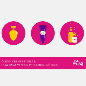 Miess Sex Shop - E-book – Óleos, cremes e velas