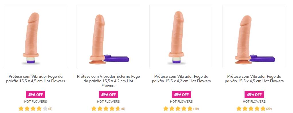 pênis com vibrador