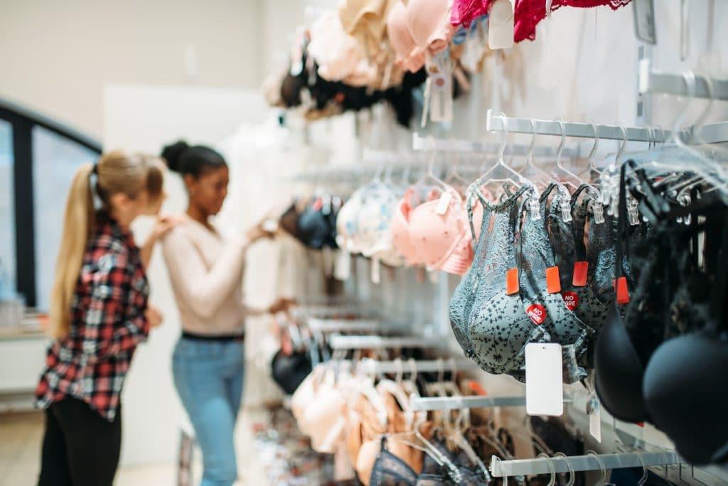 revender roupas íntimas